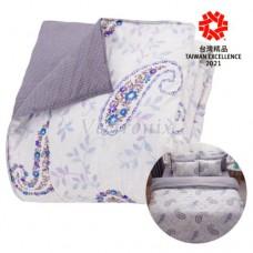 GP石墨烯遠紅外線寢具系列【鋪棉兩用被】(春紛)