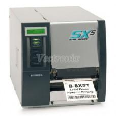 TEC B-SX5T 熱感熱轉條碼標籤列印機
