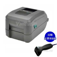 ZEBRA GT-820 熱感/熱轉雙用條碼列印機