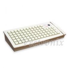 KB-6600 84鍵可程式化鍵盤(介面PS2/白色/不含MSR一+二軌)