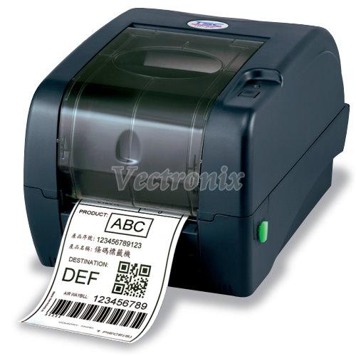 TSC TTP-345 桌上型熱感熱轉條碼標籤列印機