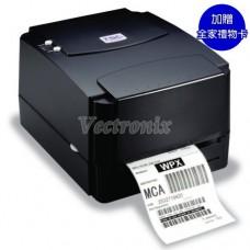 TSC TTP-244 PRO 桌上型熱感熱轉條碼標籤列印機