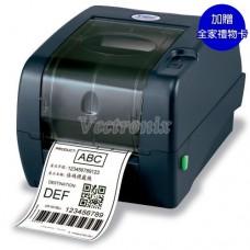 TSC TTP-247 桌上型熱感熱轉條碼標籤列印機